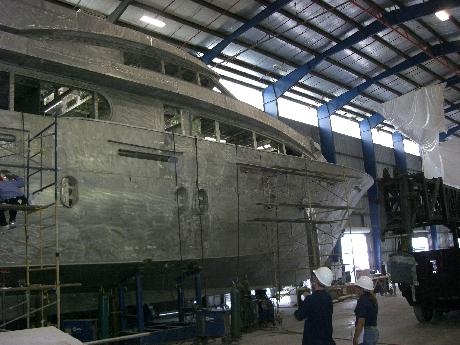 460_preparing_to_profile_new_hull_prior_to_finish_work
