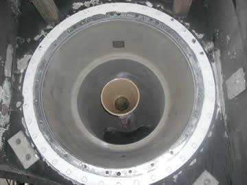 719_sandblasted_interior_tunnel_of_shaft_tubes_2nd_coat_of_Belzona